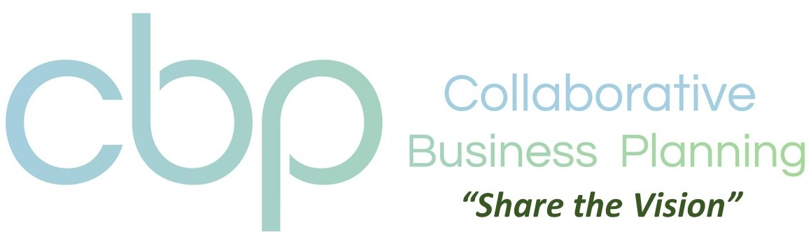 CBP logo - Collaborative Business Planning - Share the Vision