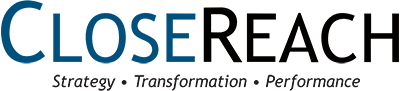 CloseReach logo - Strategy, Transformation, Performance - enterprise architecture services