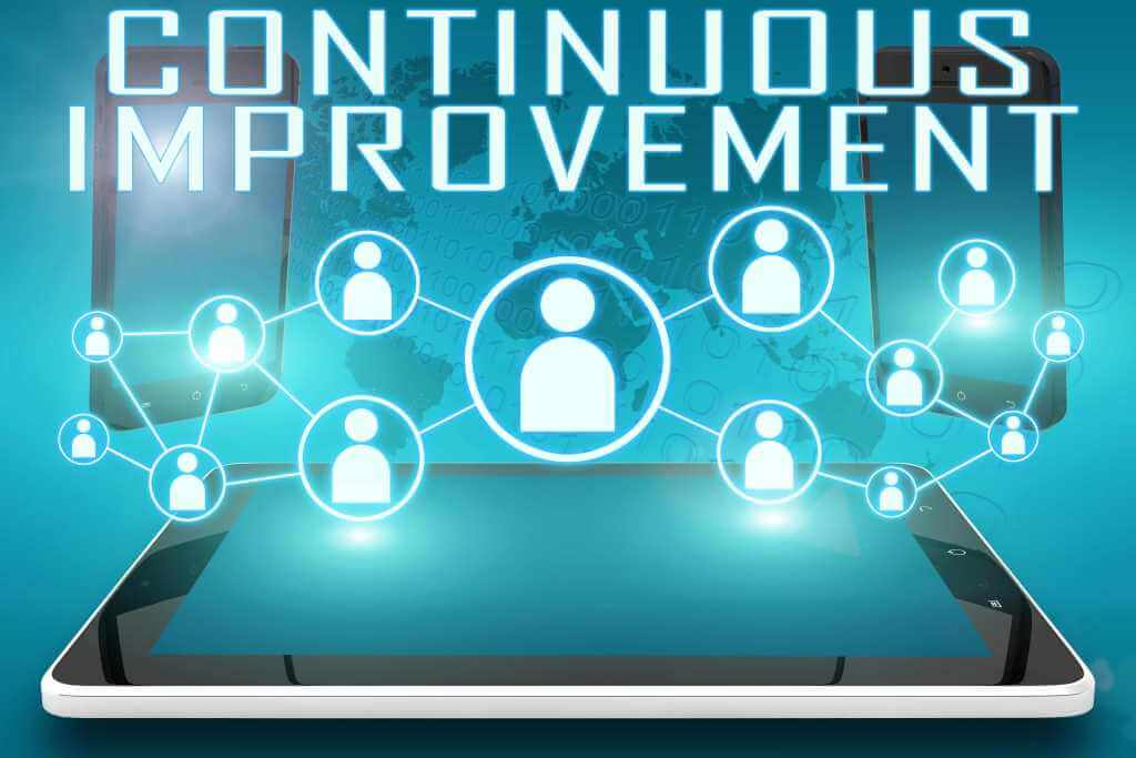 Continuous Improvement - review and feedback process