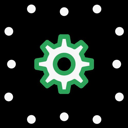 Integration technology icon