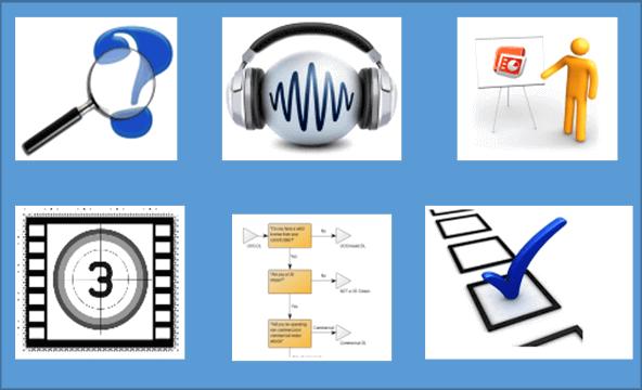 InteractTrain - multimedia training tools